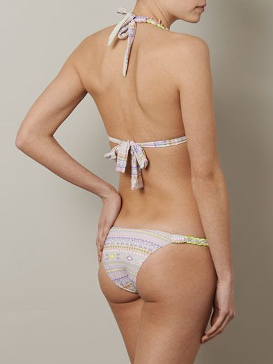 Emamò Aymari ikat-print bikini