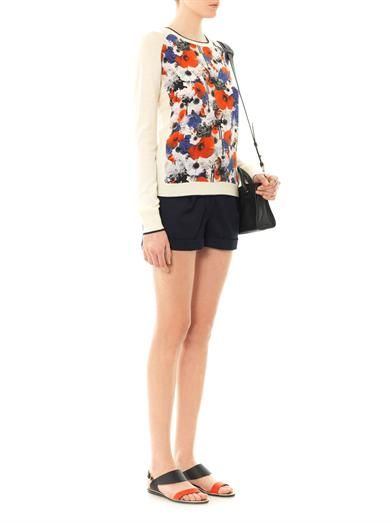 Emma Cook Tailored wool shorts