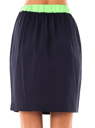 Emma Cook Star embroidered skirt