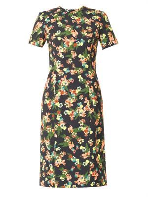 Inis St Gall floral-print dress