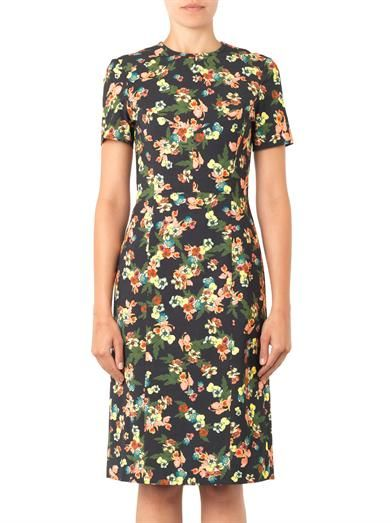 Erdem Inis St Gall floral-print dress