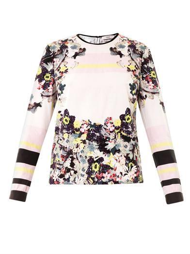 Erdem Yancy Sullivan's Dream-print blouse