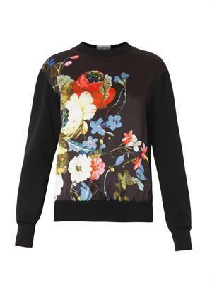 Zea Velasquez Night-print sweatshirt