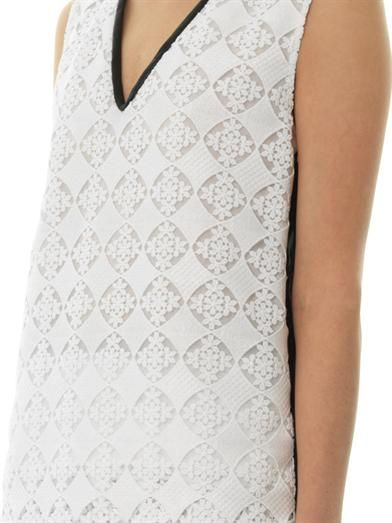 Erdem Vita diamond lace blouse