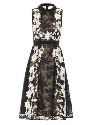 Kali lace collar dress