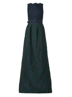 Valma lace and brocade gown