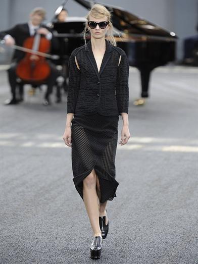 Erdem Caroline asymmetric pencil skirt