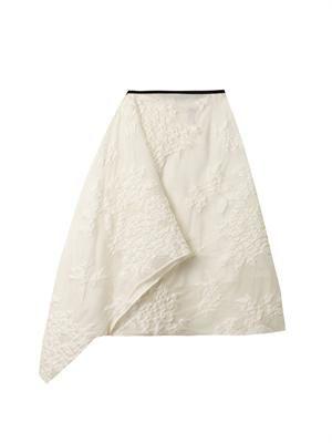 Korben fil coupé organza skirt
