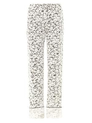 Taffy lace tailored trousers