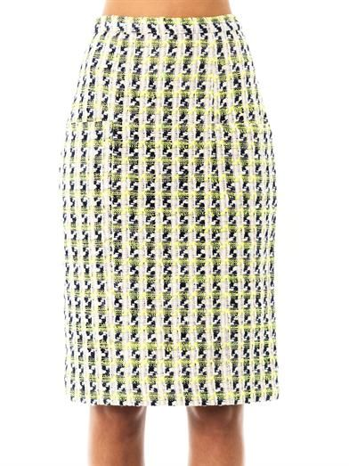 Erdem Sheila tweed skirt