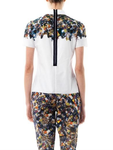Erdem Narcisse flower-print blouse