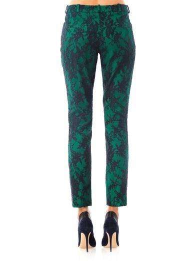 Erdem Connelly lace trousers