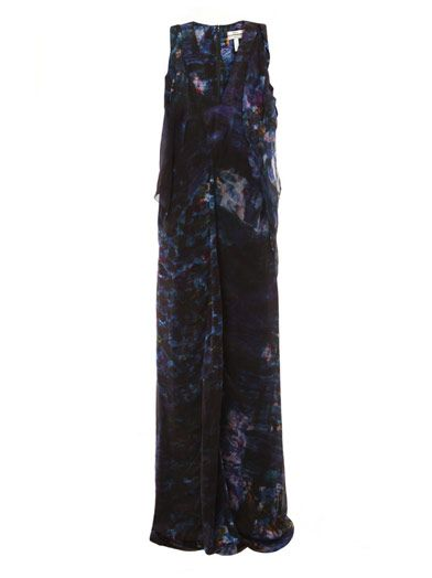 Erdem Kate abstract print dress