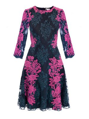 Lily lace embroidered dress