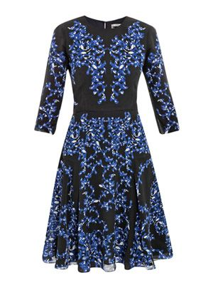 Lily Venice swirl-print dress