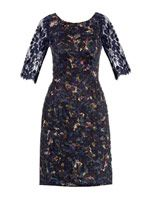 Leonie floral lace dress