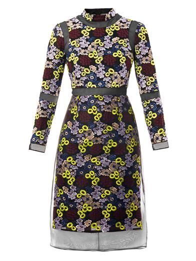 Erdem Phyliss floral embroidered dress