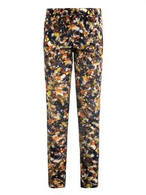 Esmeralda Narcisse flower-print trousers