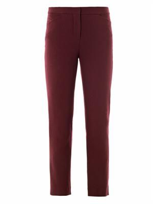 Sidney crepe trousers