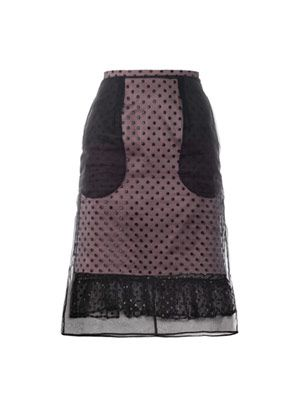Hania dotted tulle skirt