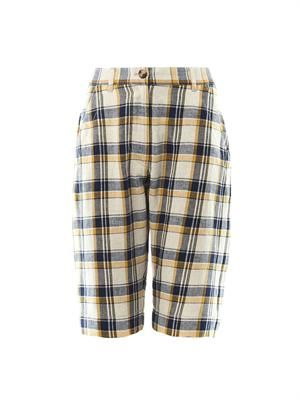Uriel check Bermuda shorts