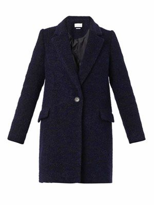 Daphne wool-blend coat