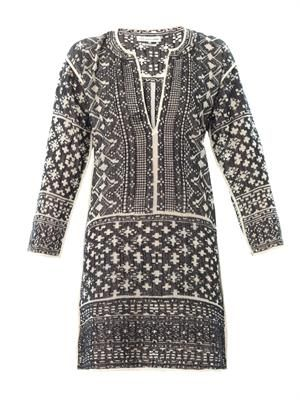 Bloom filet-crochet dress