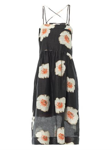 Isabel Marant Étoile Renee floral midi dress