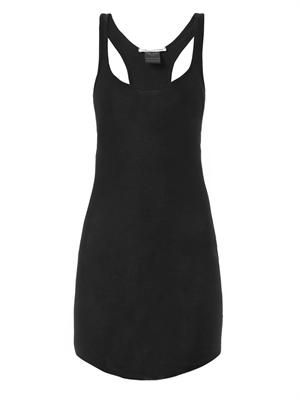 Ribbed-jersey tank dress