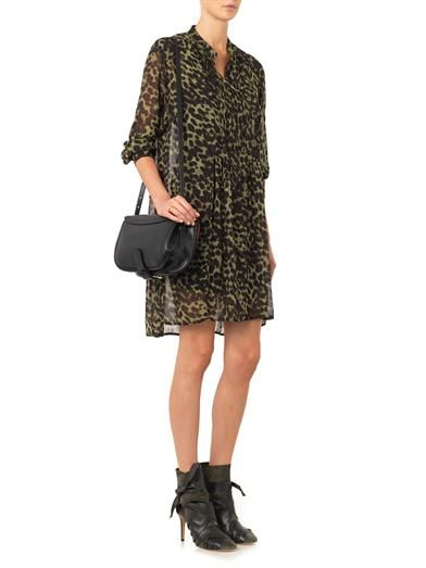 Isabel Marant Étoile Cray animal-print chiffon dress