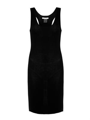 Lena ribbed cotton-jersey dress