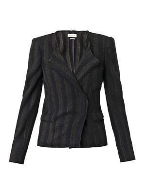 Julia wool-blend jacket