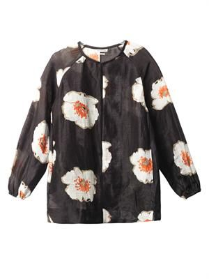 Rowan floral tunic top