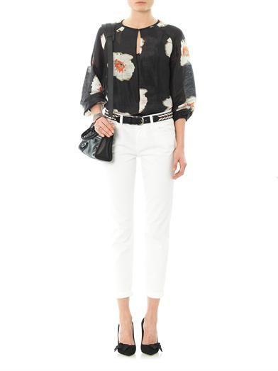 Isabel Marant Étoile Rowan floral tunic top