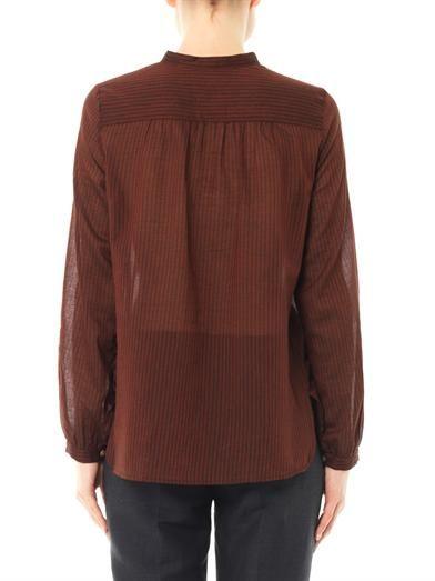 Isabel Marant Étoile Xana cotton blouse