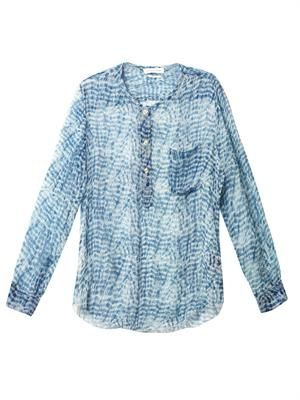 Zino silk blouse