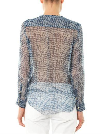 Isabel Marant Étoile Zino silk blouse
