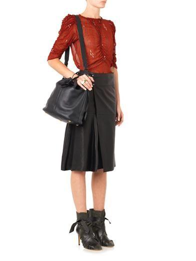 Isabel Marant Étoile Caja stripe-print blouse