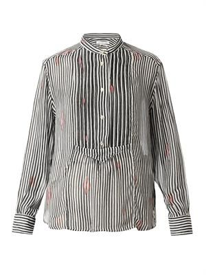Charley striped chiffon shirt