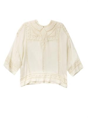 Ethan embroidered blouse