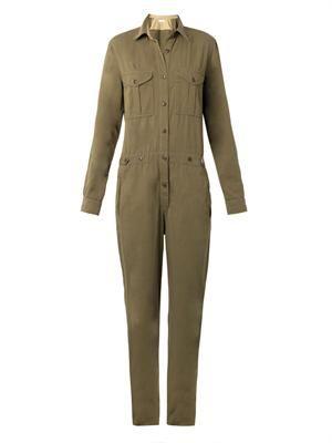 Cotton-linen jumpsuit