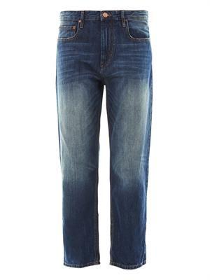 Pearson high-rise boyfriend jeans