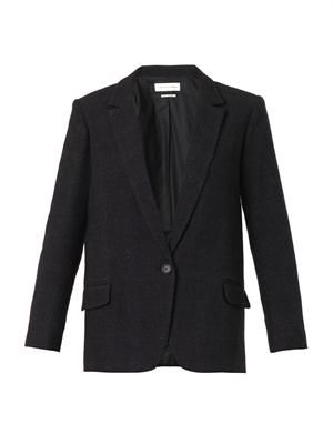 Karly wool-blend blazer