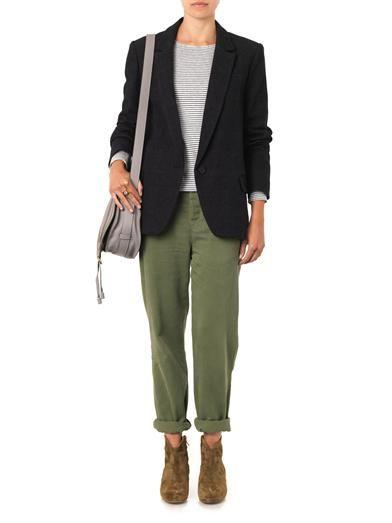 Isabel Marant Étoile Karly wool-blend blazer
