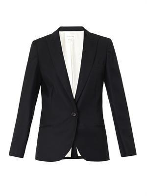 Maldy single-breasted wool blazer