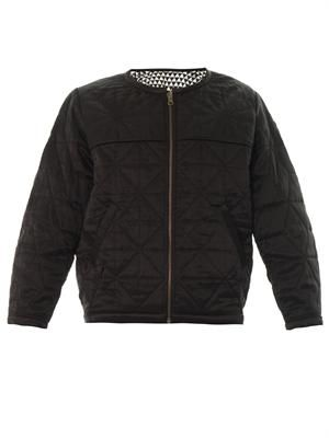 Laitlyn reversible quilted bomber jacket