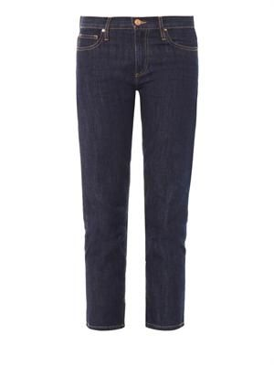 Pradley high-rise cropped jeans