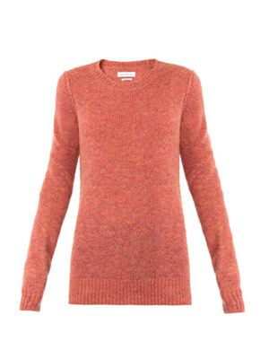 Robin mohair and wool-blend sweater