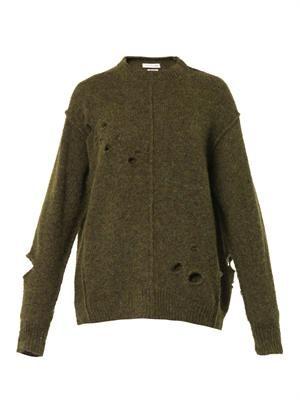 Rohan distressed sweater