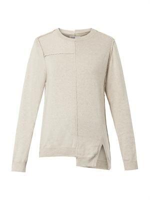 Tehora reverse-seam sweater